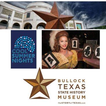 Bullock Museum features Silhouette Artist Cindi Rose