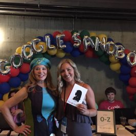 Google Corporate Events featuring Silhouette Art by Cindi!