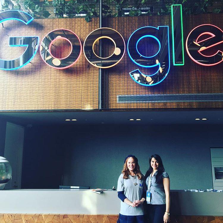 Google OntarioCorporate Event Silhouette Art by Cindi Rose